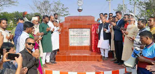 শায়েস্তাগঞ্জে ৪০ কোটি টাকার ১৩টি উন্নয়ন প্রকল্প উদ্বোধন