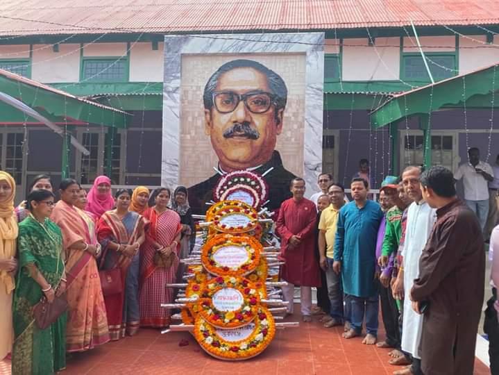 সুনামগঞ্জে জাতির পিতা বঙ্গবন্ধু শেখ মুজিবুর রহমান এর জন্মশতবার্ষিকী উদযাপন