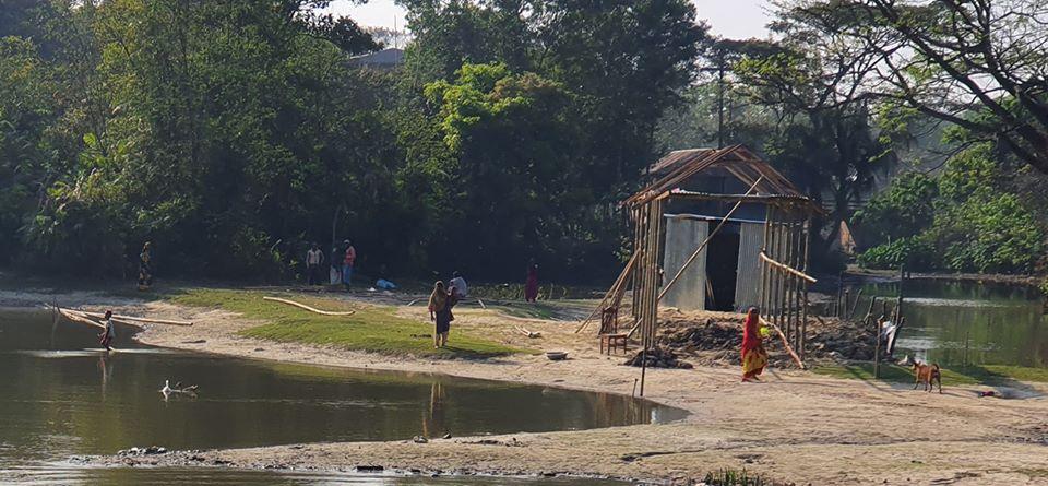 বানিয়াচংয়ে সরকারী জায়গায় বাড়ী তৈরীর অভিযোগে ২ জনকে ভ্রাম্যমান আদালতের সাজা