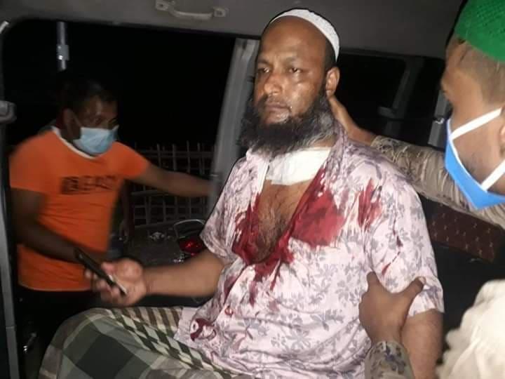 কানাইঘাটে ধারালো ছুরির আগাতে ব্যবসায়ী আহত