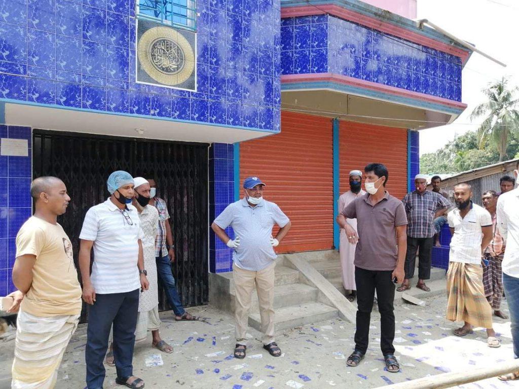 সুনামগঞ্জের ধর্মপাশা রাস্তা পরিদর্শন করে, রাস্তার কাজ শুরু করেন- এমপি রতন