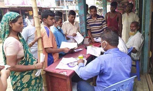 শায়েস্তাগঞ্জে মাইকিং করে পল্লী বিদ্যুতের বিল আদায়