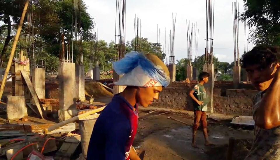 কানাইঘাটে ইউপি স্বাস্থ্য কেন্দ্র'র ভবন নির্মাণে ব্যাপক অনিয়মের অভিযোগ