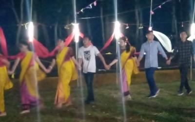 কমলগঞ্জের হোমেরজানে মনিপুরীদের অন্যরকম অনুষ্ঠান'থাবাল চোঙবা'