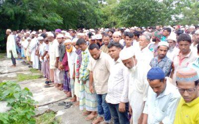 দক্ষিণ সুনামগঞ্জে প্রতিপক্ষের হামলায় নিহত নাজিম'র দাফন সম্পন্ন